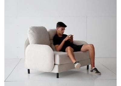 sofa desenfundable desmontable y modular modelo Tokyo de Sitsofa