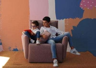 sofa desmontable desenfundable y modular modelo Circo de sitsofa