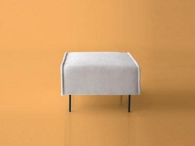 puf banqueta modelo Sugar 60 desenfundable y modular de sitsofa