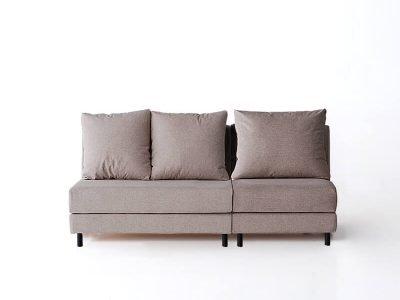sofá brick tres plazas sin brazos desenfundable desmontable de SITSOFA