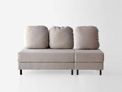 sofá tokyo tres plazas dos brazos desenfundable desmontable de SITSOFA