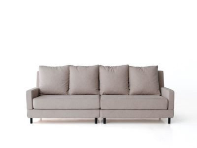 sofá brick cuatro plazas dos brazos desenfundable desmontable de SITSOFA