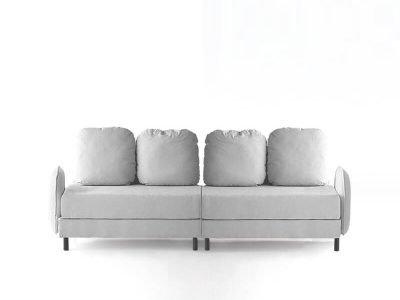 sofá tokyo cuatro plazas dos brazos desenfundable desmontable de SITSOFA