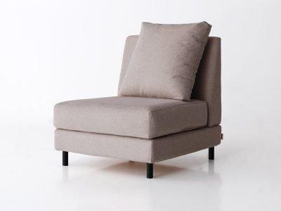 sillón brick una plaza sin brazo desenfundable desmontable de SITSOFA