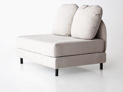 sofá tokyo dos plazas sin brazos desenfundable desmontable de SITSOFA