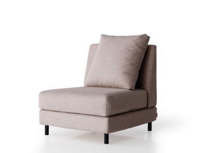 sillón brick sin brazos desenfundable modular brick