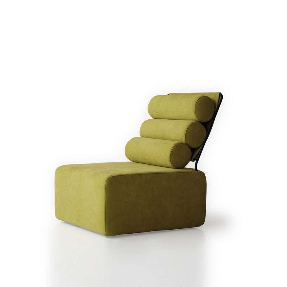 sillón roler sin brazos desenfundable modular roler