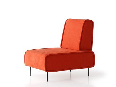 sillón sugar sin brazos desenfundable modular sugar