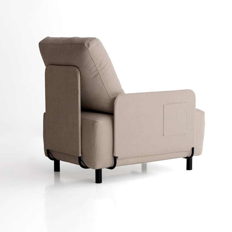 sofá sunny de una plaza con un brazo de sitsofa