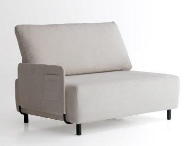 sofá sunny dos plazas con un brazo de sitsofa