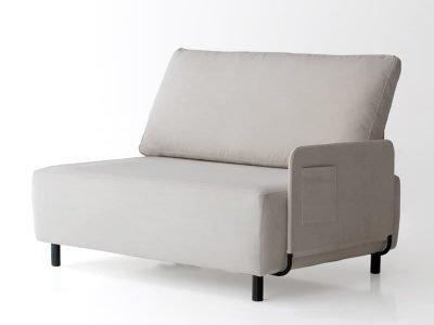 sofá sunny dos plazas con un brazo izquierdo de sitsofa